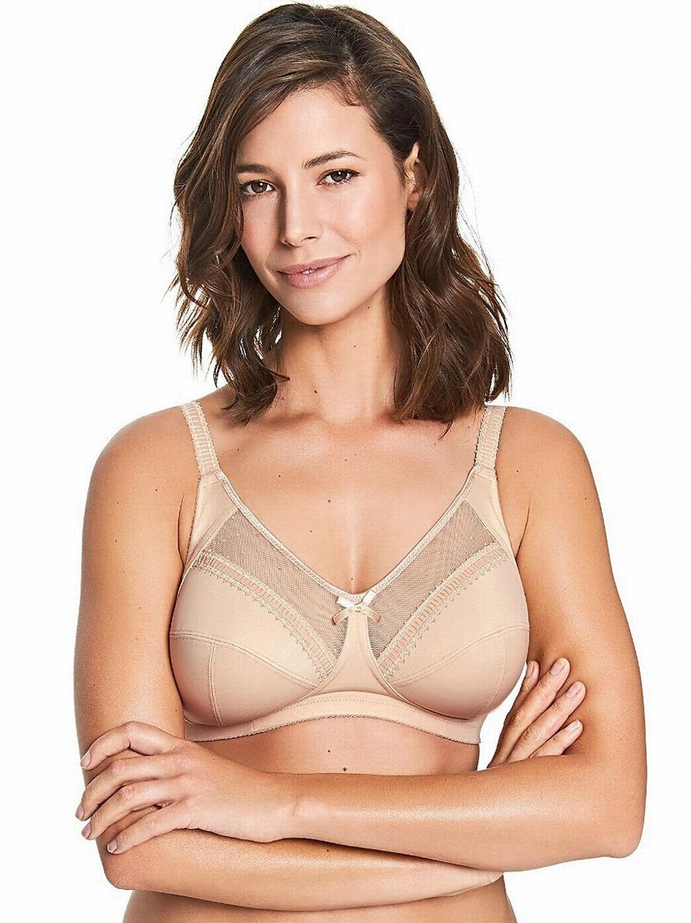 Royce Charlotte DD-K Cups Butterscotch Skin Coloured Nursing Bra